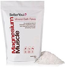 Profumi e cosmetici Fiocchi da bagno - BetterYou Magnesium Mineral Bath Flakes Lemon Rosemary