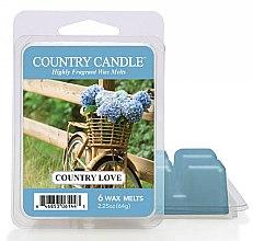Profumi e cosmetici Cera per lampada aromatica - Country Candle Country Love Wax Melts