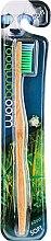 Profumi e cosmetici Spazzolino da denti in bambù, morbido, verde - Woobamboo Adult Standard Handle Toothbrush Soft