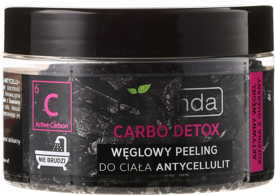 Peeling Anti-cellulite - Bielenda Carbo Detox Charcoal Salt Body Peeling Anti-Cellulite