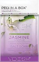 "Profumi e cosmetici Set per pedicure ""Gelsomino"" - Voesh Pedi In A Box Deluxe Pedicure Jasmine Soothe (35 g)"