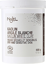 "Argilla cosmetica ""Bianca"" - Najel Clay In Powder White  — foto N5"