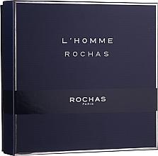 Profumi e cosmetici Rochas L'Homme Rochas - Set (edt/100ml + sh/gel/100 + ash/b/100ml)