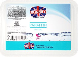 Profumi e cosmetici Paraffina naturale - Ronney Natural Paraffin