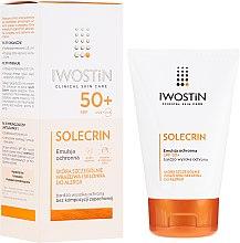 Profumi e cosmetici Emulsione protettiva SPF50 + - Iwostin Solecrin Emulsion SPF50+