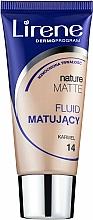 Profumi e cosmetici Fondotinta opacizzante - Lirene Nature Matte Foundation