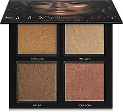 Profumi e cosmetici Palette illuminanti - Huda Beauty 3D Highlighter Palette