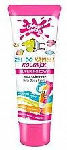 Profumi e cosmetici Gel doccia per bambini con aroma di zucchero filato - Chlapu Chlap Bath & Shower Gel