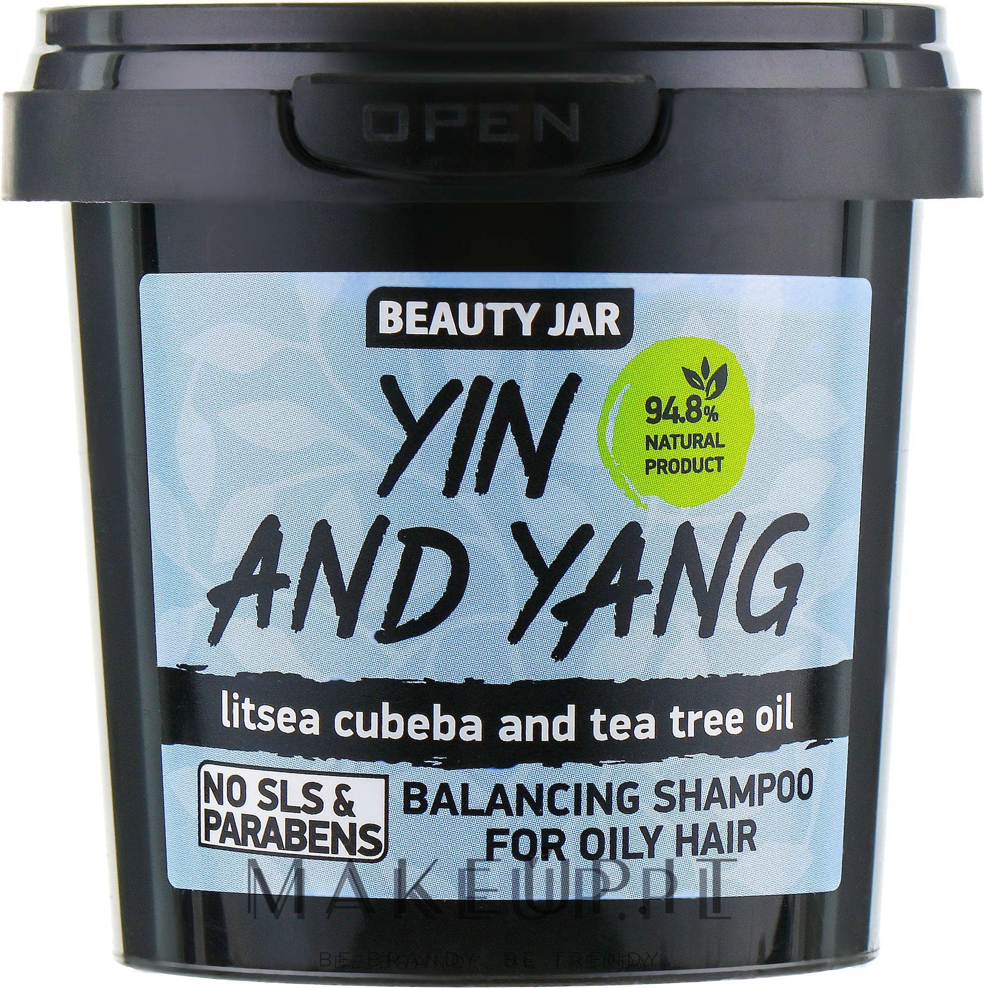 Shampoo per capelli grassi Yin and Yang - Beauty Jar Shampoo For Oily Hair — foto 150 g