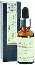 Profumi e cosmetici Bath House Spanish Fig and Nutmeg - Olio per barba
