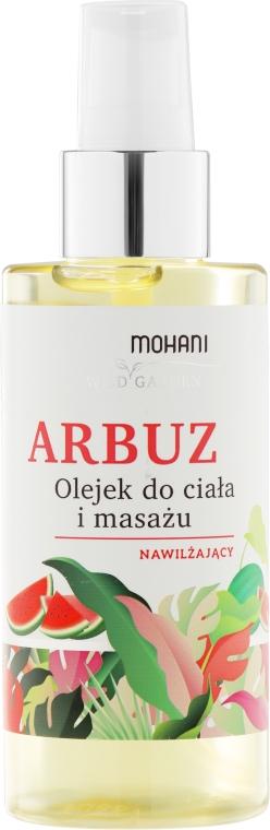 """Olio corpo e massaggio idratante """"Anguria"""" - Mohani Wild Garden Oil"""