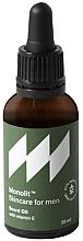 Profumi e cosmetici Olio da barba alla vitamina E - Monolit Skincare For Men Beard Oil With Vitamin E