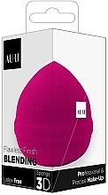 Profumi e cosmetici Spugna per trucco, rosa - Auri Flawless Finish Blending Sponge 3D
