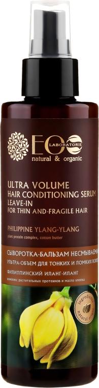 Siero-condizionante per capelli sottili e fragili - Eco Laboratorie
