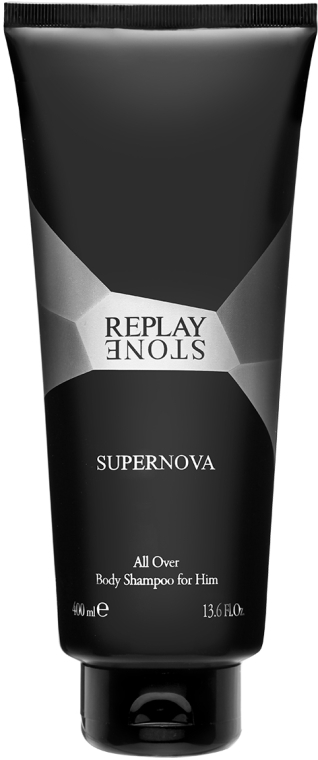 Replay Stone Supernova Man Body Shampoo - Gel doccia  — foto N1