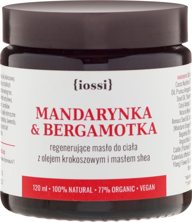 """Burro corpo rigenerante """"Mandarino e bergamotto"""" - Iossi Regenerating Body Butter"""