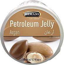 Profumi e cosmetici Vaselina con olio di argan - Hemani Petroleum Jelly With Argan