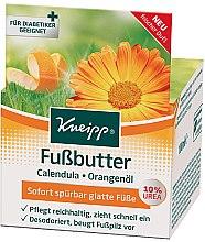 Profumi e cosmetici Burro per piedi - Kneipp Foot Repair Butter Calendula & Orange