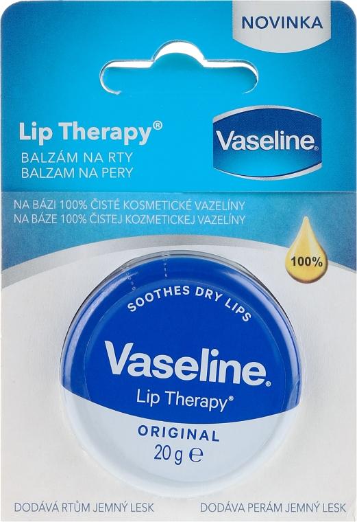 Balsamo per le labbra - Vaseline Lip Therapy Original Lips Balm