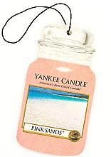 "Profumi e cosmetici Aromatizzatore per auto ""Pink Sands"" - Yankee Candle Pink Sands Car Jar Ultimate"