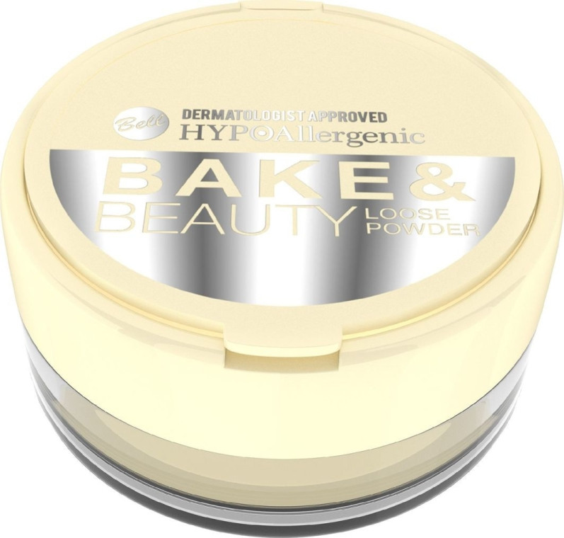 Cipria in polvere - Bell HypoAllergenic Bake & Beauty Loose Powder