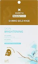Profumi e cosmetici Maschera viso anti-età - SesDerma Laboratories Beauty Treats Shining Gold Mask