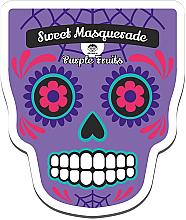 Profumi e cosmetici Maschera viso in tessuto - Dr Mola Sweet Masquarade Pureple Fruits mask