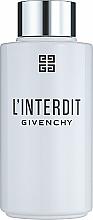 Profumi e cosmetici Givenchy L'Interdit - Olio doccia