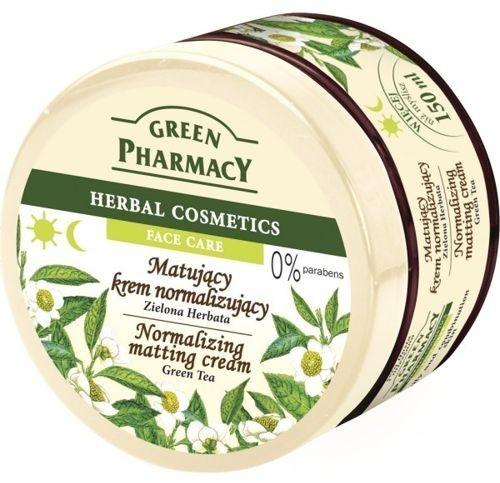"Crema opacizzante viso ""Tè verde"" - Green Pharmacy Normalizing Matting Cream"