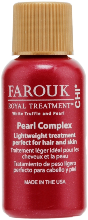 Lozione per la cura dei capelli e cuoio capelluto - CHI Farouk Royal Treatment by CHI Pearl Complex (mini) — foto N1