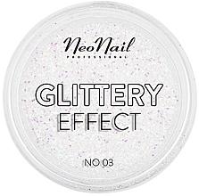 Profumi e cosmetici Polvere glitterata per nail design - NeoNail Professional Glittery Effect