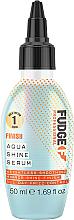 Profumi e cosmetici Siero per capelli - Fudge Aqua Shine Serum