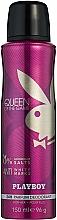 Profumi e cosmetici Playboy Queen of the Game - Deodorante spray per il corpo
