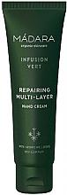 Profumi e cosmetici Crema mani rivitalizzante - Madara Cosmetics Infusion Vert Repairing Multi-Layer Hand Cream