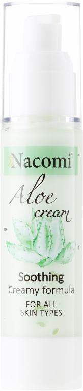 Crema viso lenitiva all'aloe - Nacomi Aloe Cream
