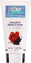 """Profumi e cosmetici Crema mani """"Rosa"""" - Saito Spa Hand Cream Rose"""