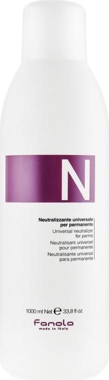 Neutralizzante universale per permanente - Fanola Universal Neutralizer For Perms — foto N1