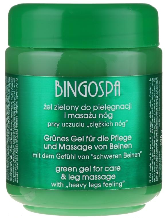 "Gel-Spa per gambe ""Verde"" - BingoSpa Green Gel"