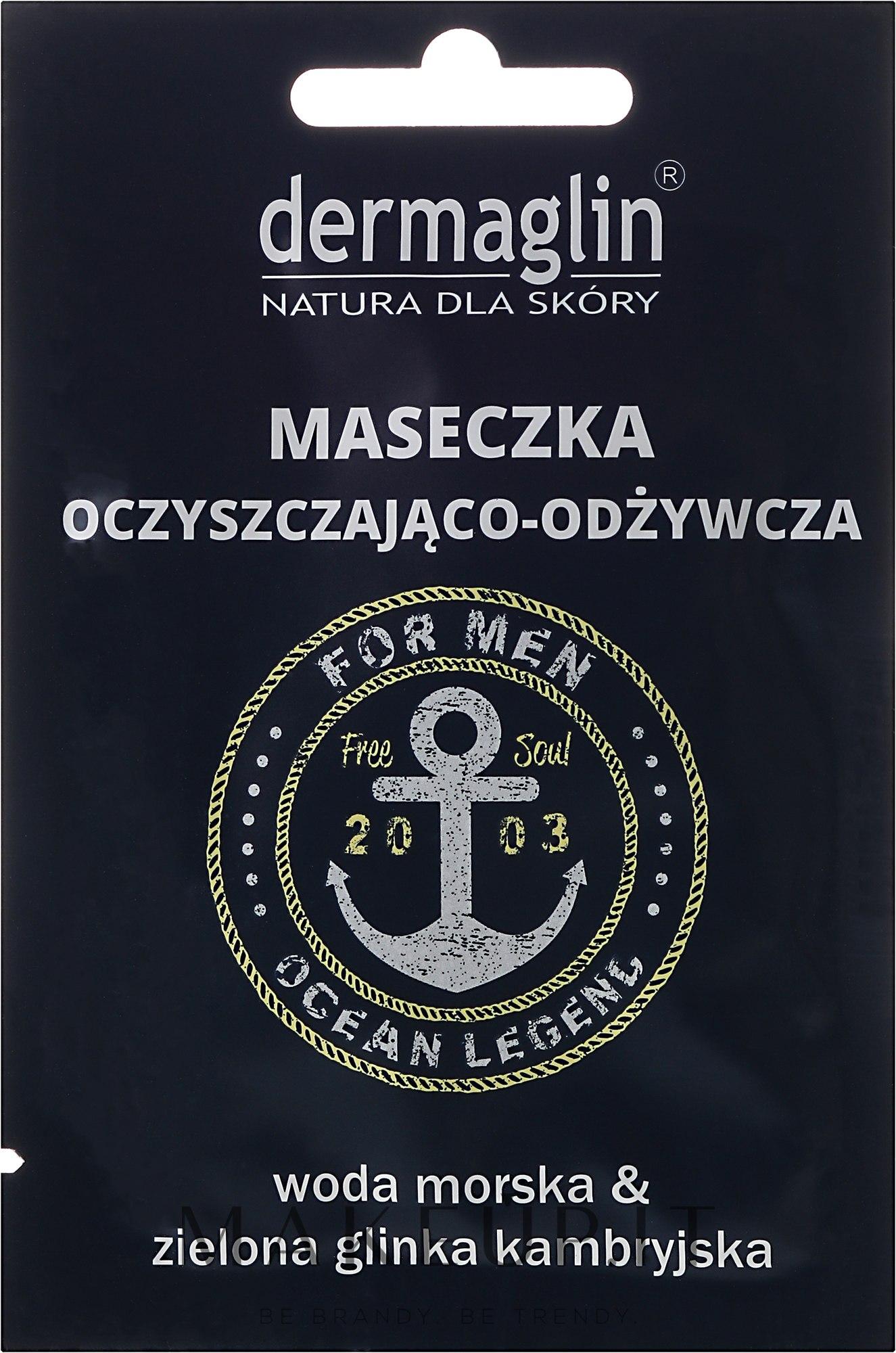 Maschera viso - Dermaglin For Men Ocean Legend — foto 20 ml
