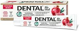 """Profumi e cosmetici Dentifricio """"Protezione Naturale"""" con melograno - Dental Bio Vital Natural Protection Toothpaste"""
