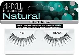 Profumi e cosmetici Ciglia finte - Ardell Natural Lashes Black 106