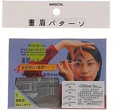 Profumi e cosmetici Stencil per sopracciglia, B5, B6, B7, B8 - Magical Eyebrow Style