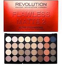 Palette ombretti, 32 tonalità - Makeup Revolution Ultra 32 Shade Palette Flawless Matte 2 — foto N2
