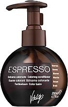 Profumi e cosmetici Balsamo colorante - Vitality's Art Espresso