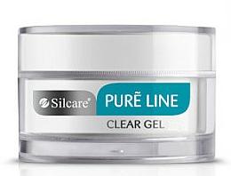 Profumi e cosmetici Gel per unghie - Silcare Pure Line Clear Gel