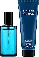 Profumi e cosmetici Davidoff Cool Water - Set (edt/40ml + sh/gel/75ml)