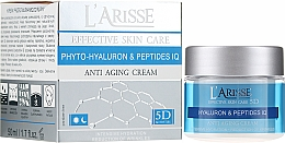 Profumi e cosmetici Crema anti-rughe con acido ialuronico e peptidi 45+ - Ava Laboratorium L'Arisse 5D Anti-Wrinkle Cream Phytohyaluron + Peptides