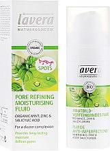Profumi e cosmetici Crema fluida idratante viso per restringere i pori - Lavera Pore Refining Moisturising Fluid