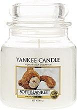 Profumi e cosmetici Candela in vetro - Yankee Candle Soft Blanket