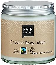 """Profumi e cosmetici Lozione corpo """"Cocco"""" - Fair Squared Body Lotion Coconut"""